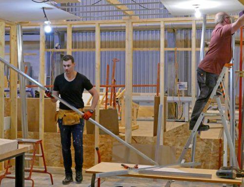 En Novembre 2019, une formation d'ouvrier qualifié de maintenance en hôtelleriede plein air