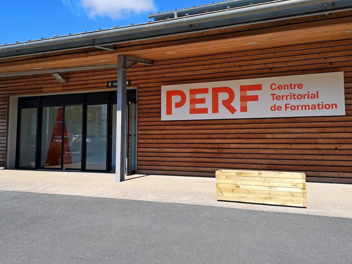 Salle de formation du PERF Tarnos