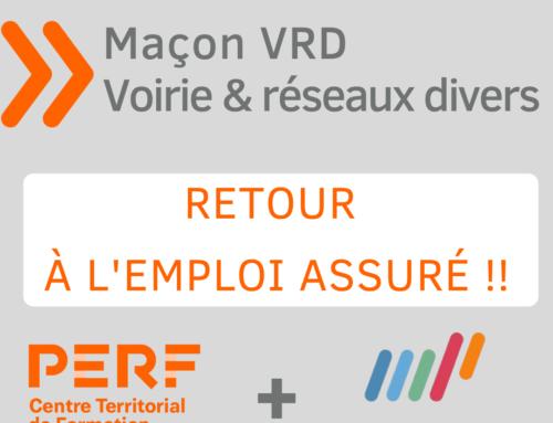 RETOUR A L'EMPLOI avec la formation MAÇON VRD !